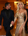 Lady Gaga & boyfriend all loved-up at the Golden Globes after-party (PHOTOS)