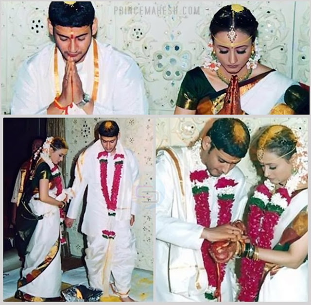 Mahesh Babu Marriage Photos