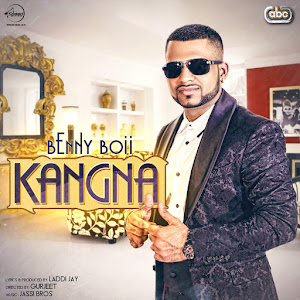 Benny Boii - Kangna (with Jassi Bros) - Single Cover