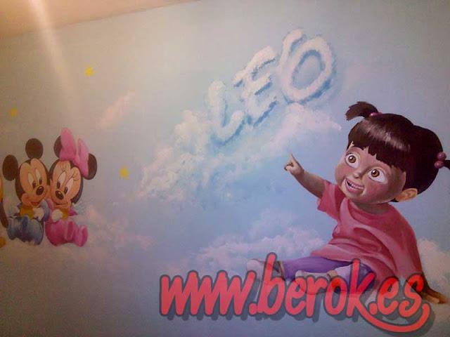 Murales infantiles Barcelona 2016