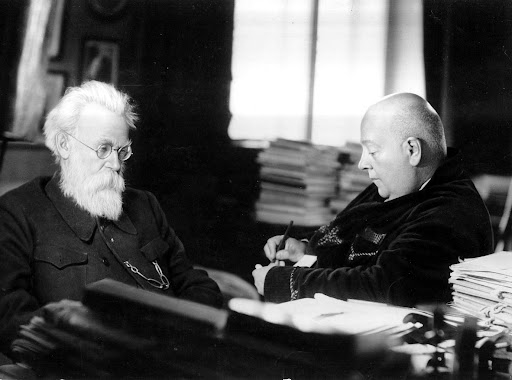 Вернадский и Ферсман