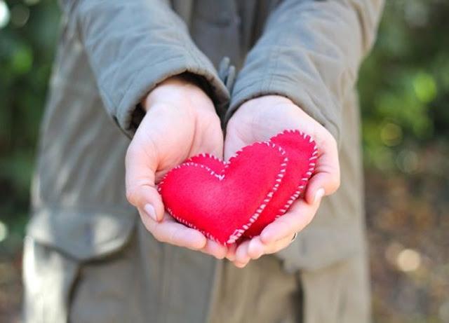 ewl yapımı kalp el ısıtıcı
