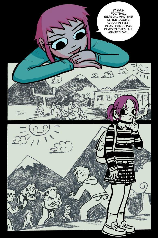 Read online Scott Pilgrim comic -  Issue #1 - 132