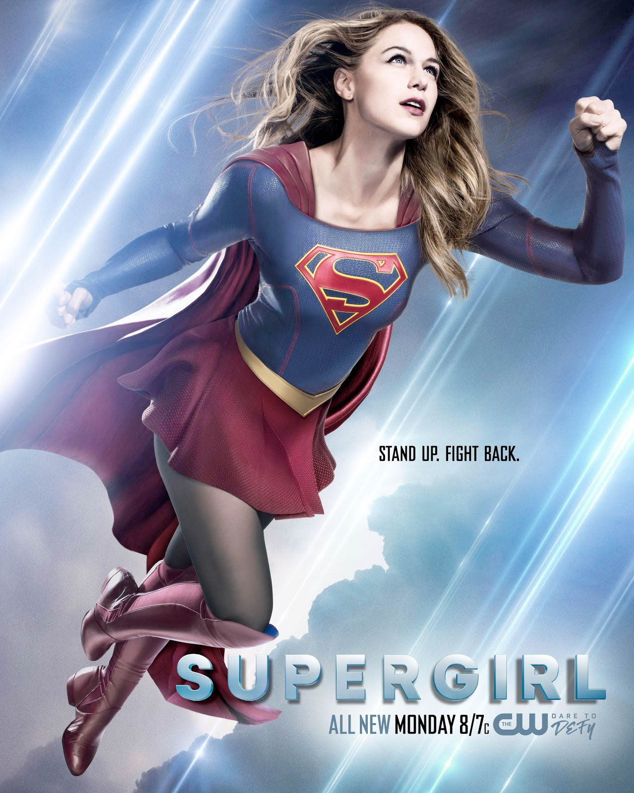Supergirl 2x21 Resist poster