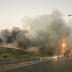 Se registra otro incendio en vertedero de Puerto Plata