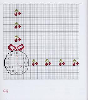 schema punto croce per la cucina-grille point de croix thé