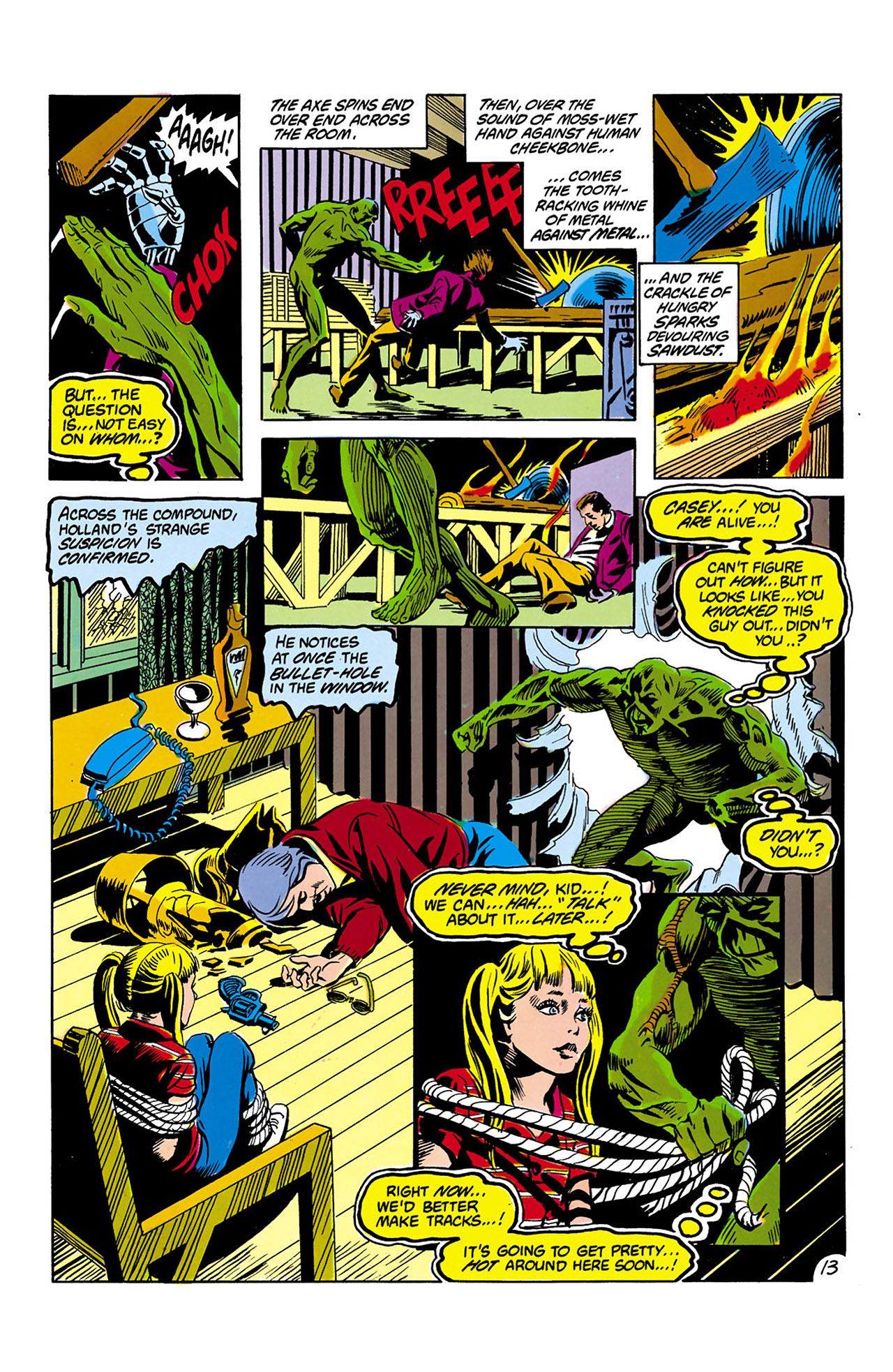Swamp Thing (1982) Issue #2 #10 - English 14