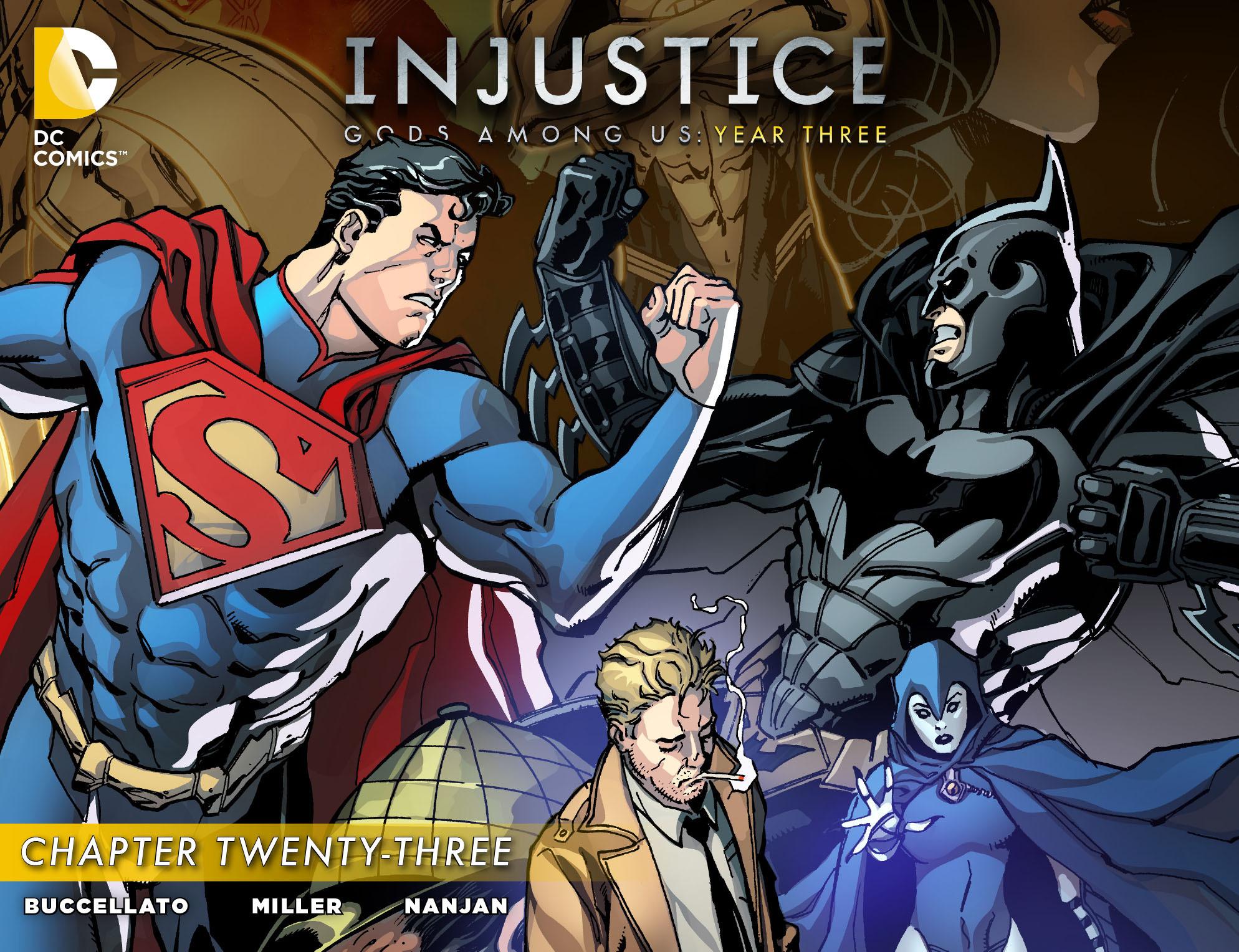 Injustice: Gods Among Us Year Three 23 Page 1
