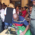 MPNAIJA GIST:Gov. Fayose Shows Off His Tailoring Skills In Ado Ekiti. (Photos)