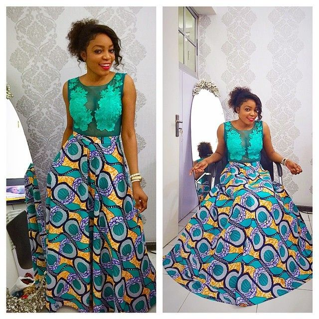 Ankara Mixed With Lace Styles Latest Gown Styles You Can Rock