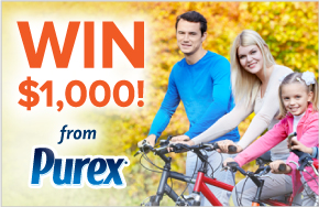 Win $1,000 from Purex
