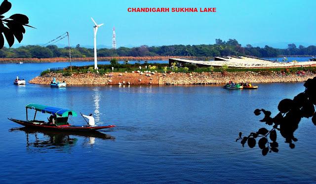 TOURISM-CHANDIGARH TRAVEL-FUNCITY CHANDIGARH-SUKHNA LAKE