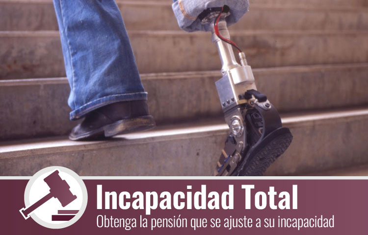 Incapacidad permanente total en Zaragoza