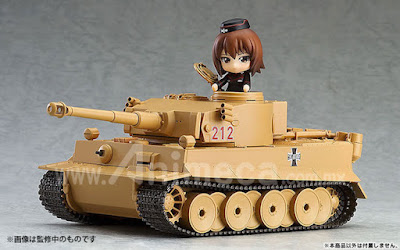 Figura Tiger I Nendoroid More Girls und Panzer the Movie