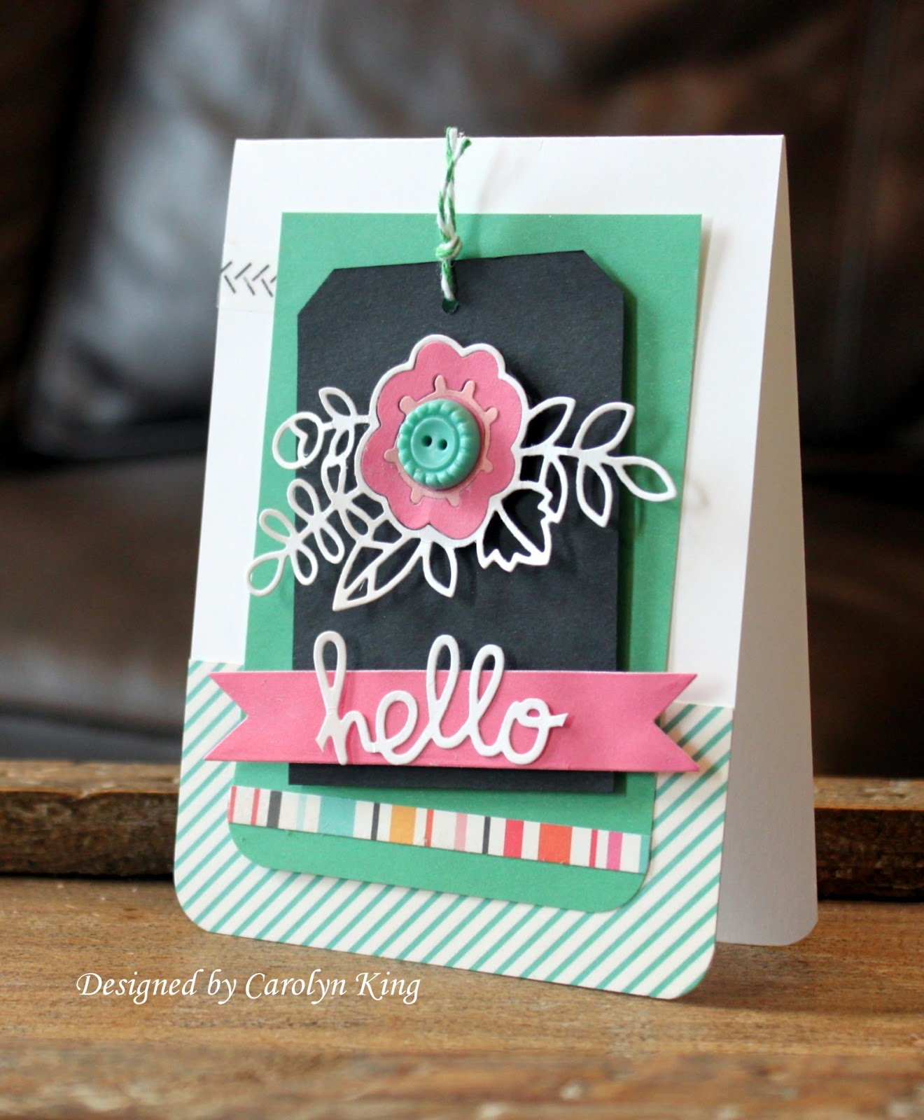 Oh I Heart This So Much Esp How Everything Centres: My Blog: Giveaway Winner And A Challenge Card