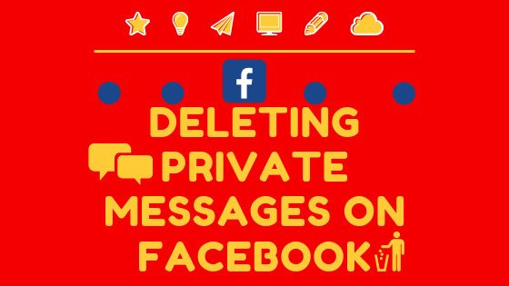 Deleting Private Messages On Facebook