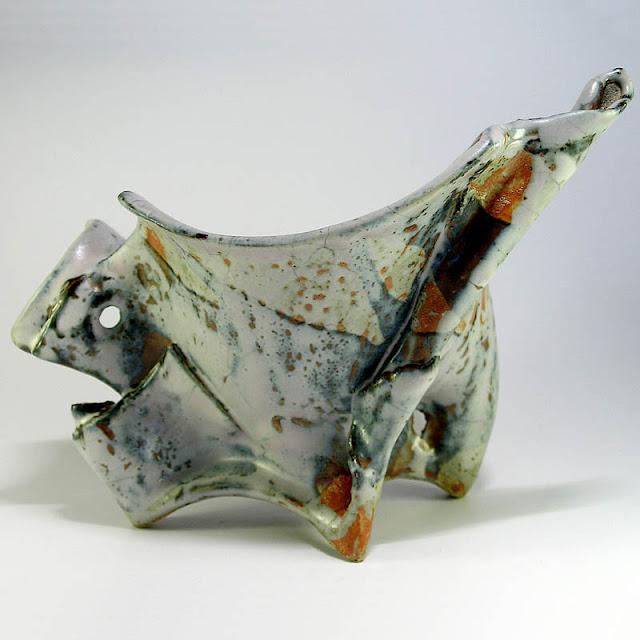 Sculpture céramique contemporaine