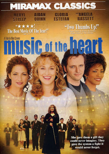 Poster Of Music of the Heart 1999 Full Movie Download 300MB In Hindi English Dual Audio 480P Compressed Small Size Pc Movie