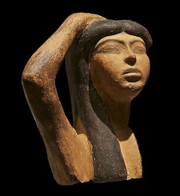Isis (mourning Osiris)