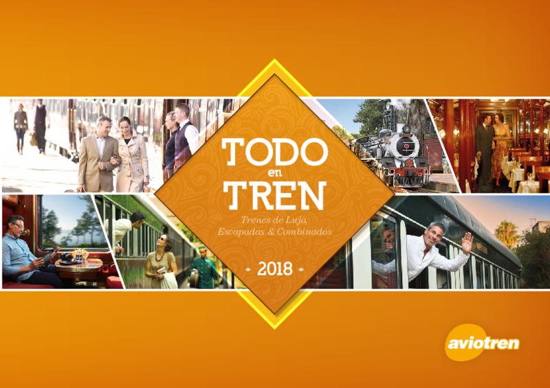 Catálogo Aviotel Tren Europa 2018-19