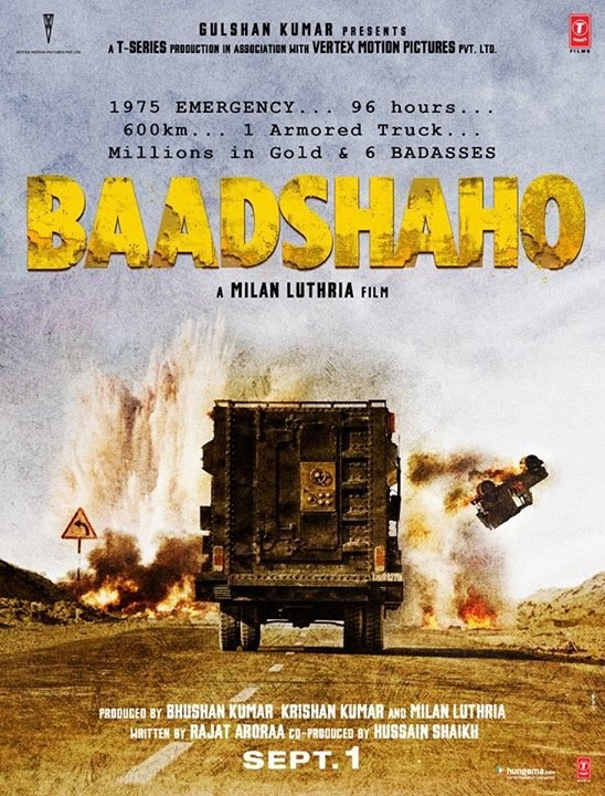 Ajay Devgan and Emraan Hashmi Baadshaho First Look Poster