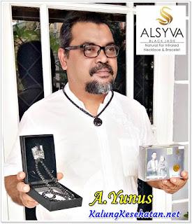 Alamat Penjualan Kalung ALSYVA / Black Jade
