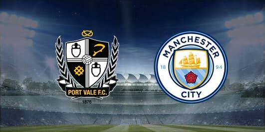 مباراة مانشستر سيتي وبورت فايل بتاريخ 04-01-2020 كأس الإتحاد الإنجليزي