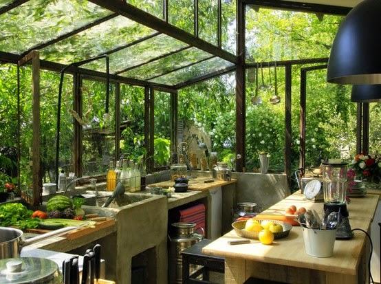 la fabrique d co des plantes dans la cuisine. Black Bedroom Furniture Sets. Home Design Ideas