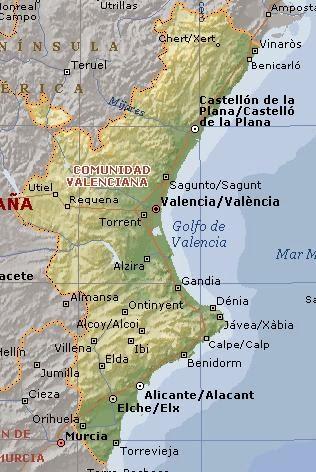 Mapa Rios Comunidad Valenciana.Comunidad Valenciana Normativa De Pesca Continental
