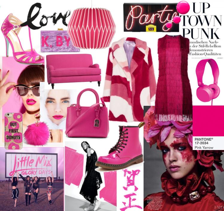 PANTONE 17-2034 Pink Yarrow