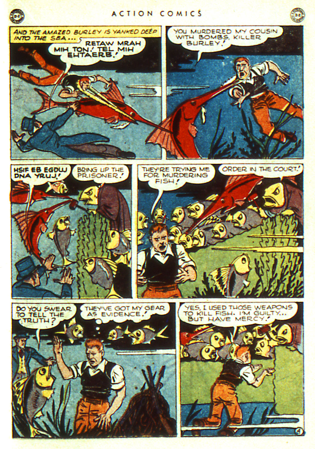 Read online Action Comics (1938) comic -  Issue #98 - 25