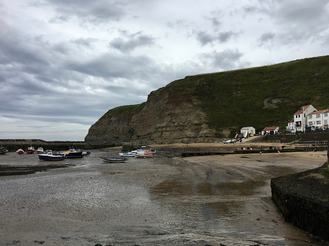 Boulby Cliff, Staithes, Cleveland Way Walking Trail, North Yorkshire