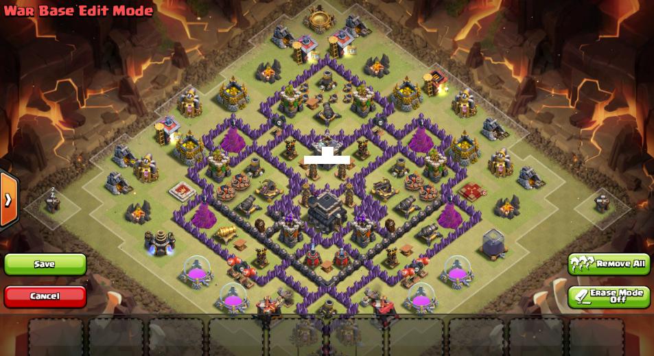 Base War Th 9 Prematur Terkuat 3