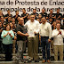 Rinden protesta los Enlaces Municipales de la Sejuve