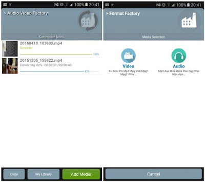 aplikasi format factory for android