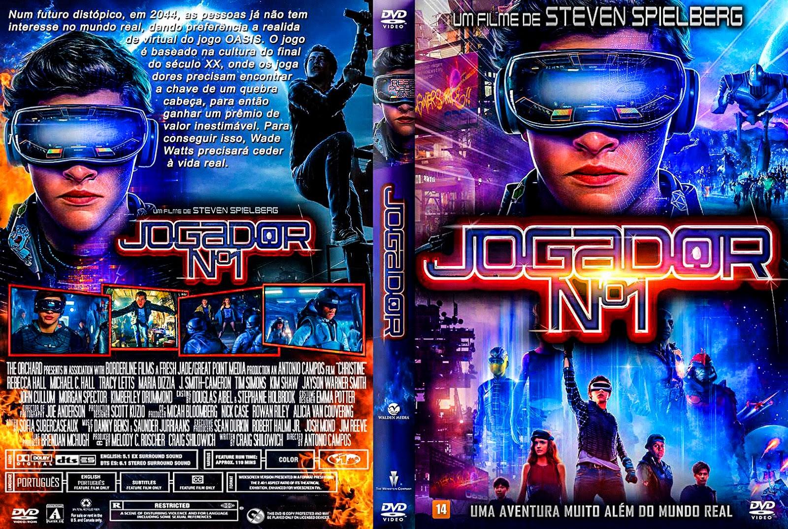Jogador Nº1 2018 – AUTORADO – CAPA DVD