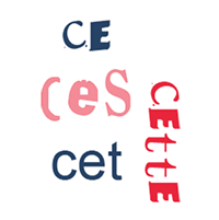 Les adjectifs démonstratifs en français, grammaire fle