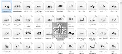 download kumpulan font gratis