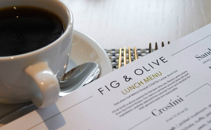 fig & olive lunch menu