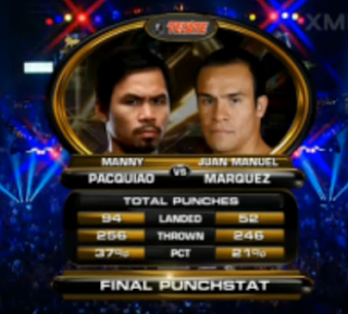 Final Punch Stats PM4 fight
