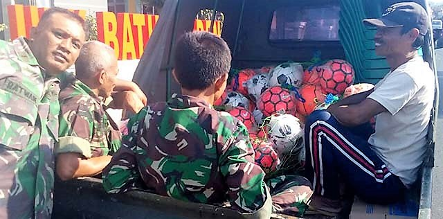 Keikhlasan Para Parajurit Demi Kesejahateraan Warga Sasaran TMMD