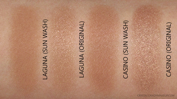 NARS Sun Wash Diffusing Bronzers Bronzing Powders Laguna Casino Swatches Comparisons