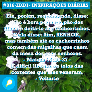 016-IDD1- Ideia do Dia 1