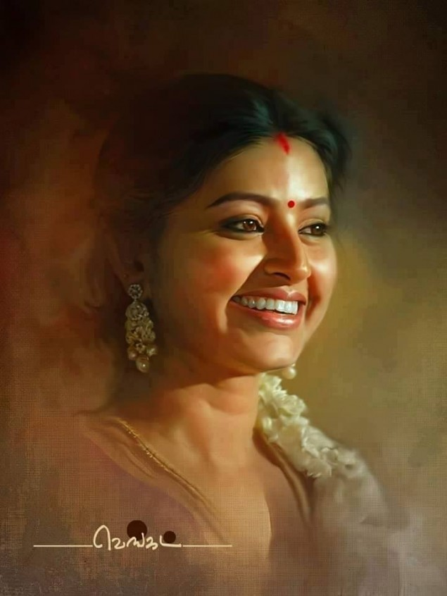 Wonderful Realistic Paintings Of Actors Amp Actress Gethu