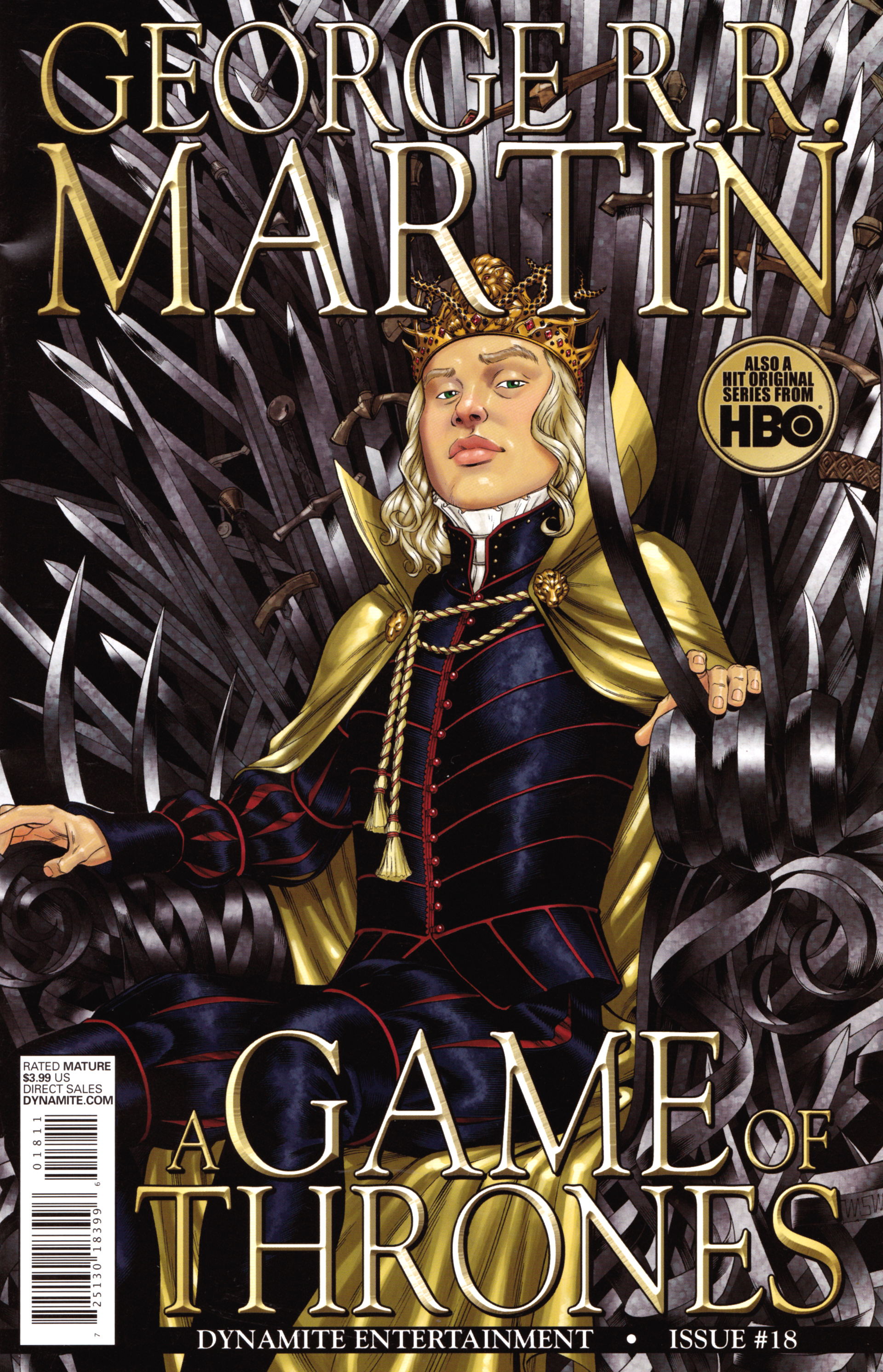 Read online A Game Of Thrones comic -  Issue #18 - 1