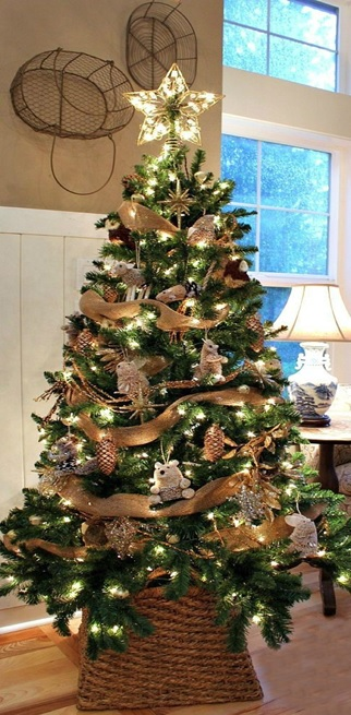 Ideas to decorate a beautiful Christmas tree