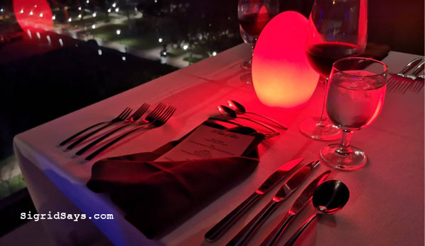extraordinary valentine's day - Seda Capitol Central staycation - Bacolod hotels - Bacolod blogger - family vacation - Valentine's date - Valentine dinner - red roses - Seddy bear - Straight Up Roofdeck bar - Valentine gift ideas - French menu - red roses - pralines
