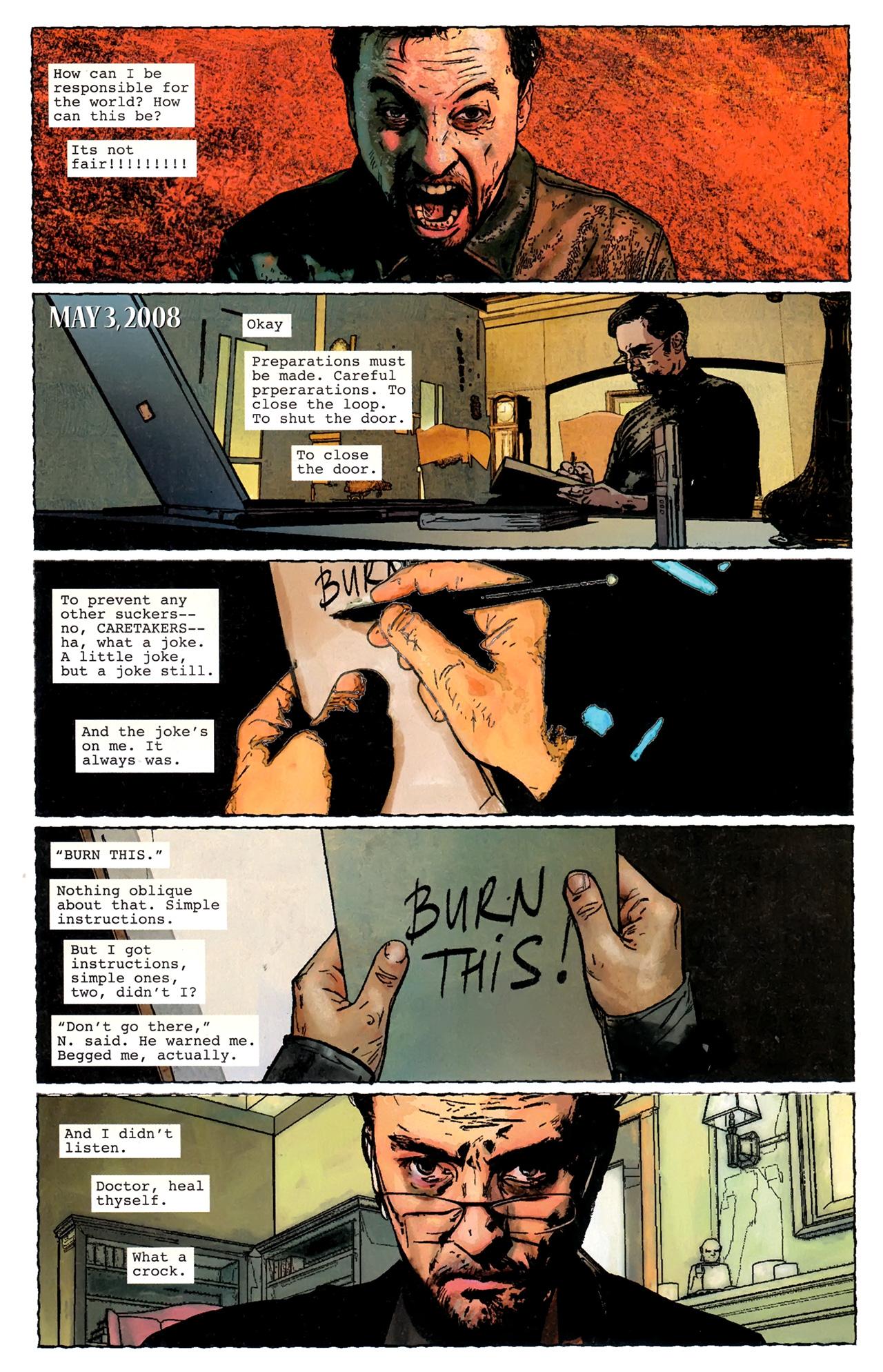 Read online Stephen King's N. comic -  Issue #3 - 21