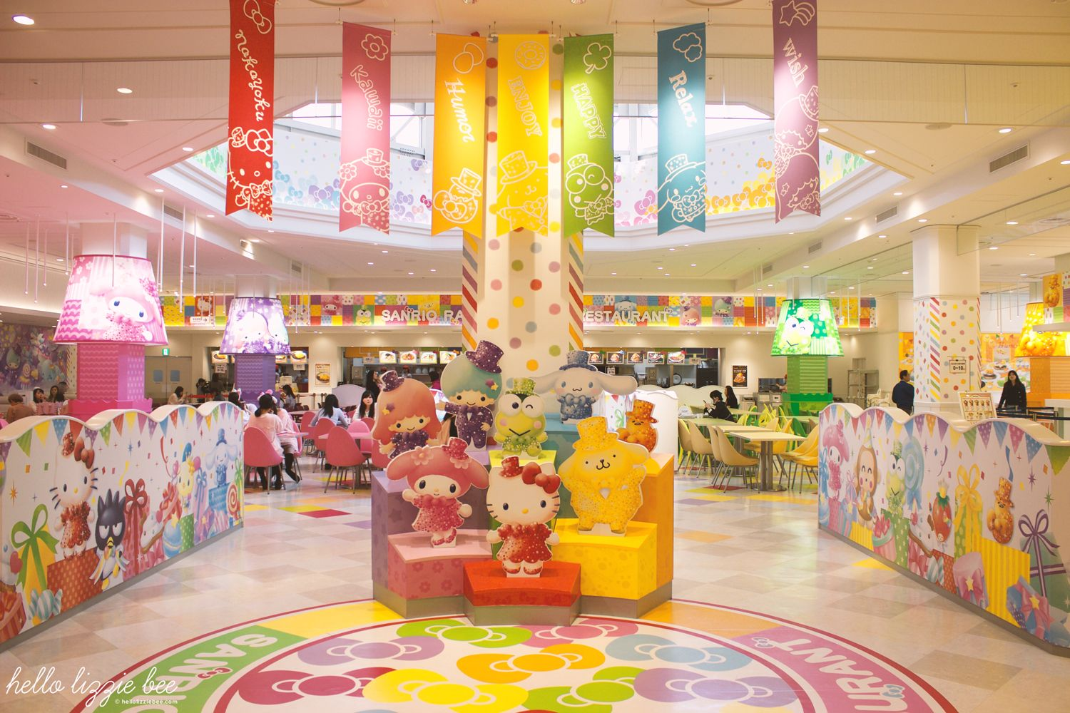sanrio world restaurant