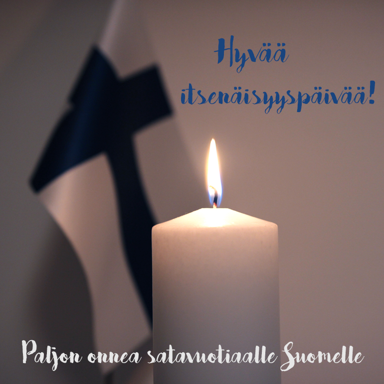 hyvää itsenäisyyspäivää itsenäinen suomi 100